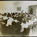 Students in Typewriting Class in 1910.