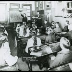 Students in the Intermediate Shorthand Class in 1910.