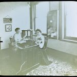 Stott's Business College, office photo.